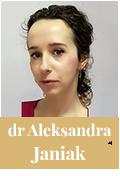 dr Aleksandra Janiak