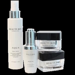 Profesjonalny zestaw kosmetyków do domowej pielęgnacji twarzy Beauty Box by Klinika La Perla