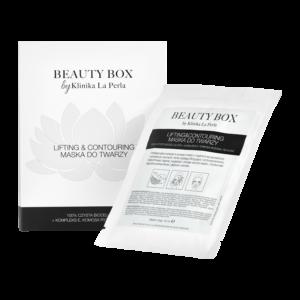 Maska w płachcie liftingująco-konturująca Beauty Box by Klinika La Perla