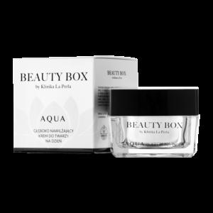 Ultranawilżający krem do twarzy na dzień Aqua Beauty Box by Klinika La Perla