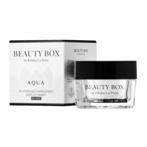 Ultranawilżający krem do twarzy na noc Aqua Beauty Box by Klinika La Perla
