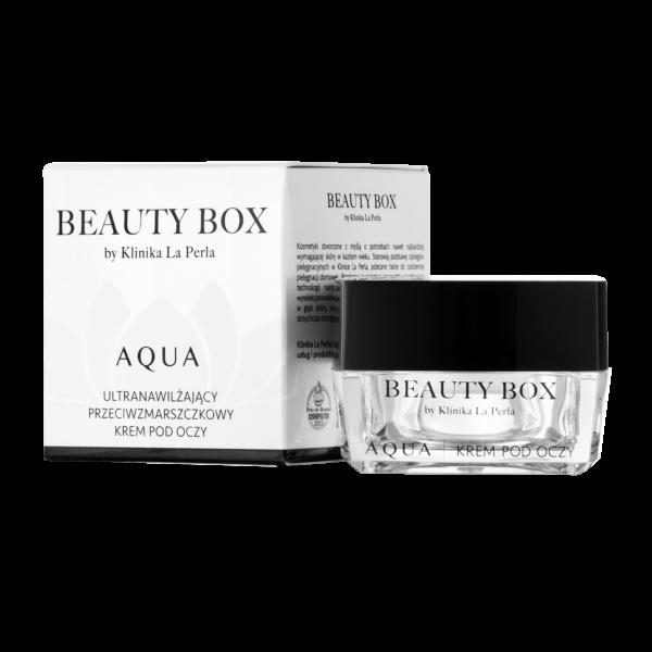 Zaawansowana pielęgnacja delikatnej okolicy oczu Aqua Beauty Box by Klinika La Perla