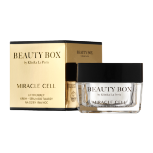 Liftingujący krem-serum Miracle Cell Beauty Box by Klinika La Perla