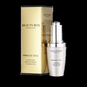 Liftingujące serum do twarzy z nanozłotem Beauty Box by Klinika La Perla